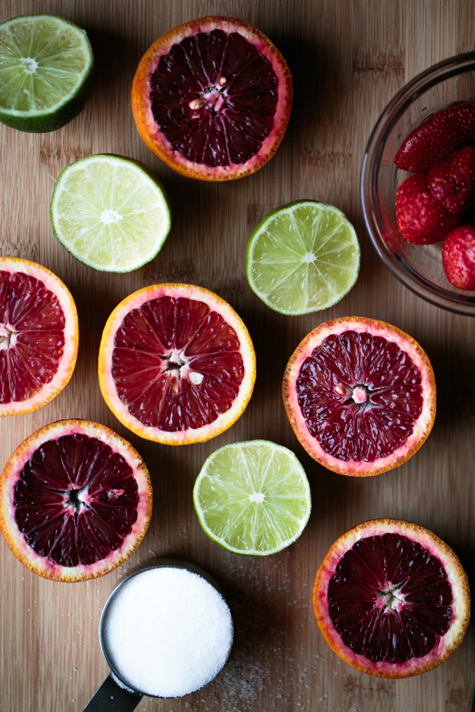 Blood Orange Strawberry Limeade by thiswildseason.com -2