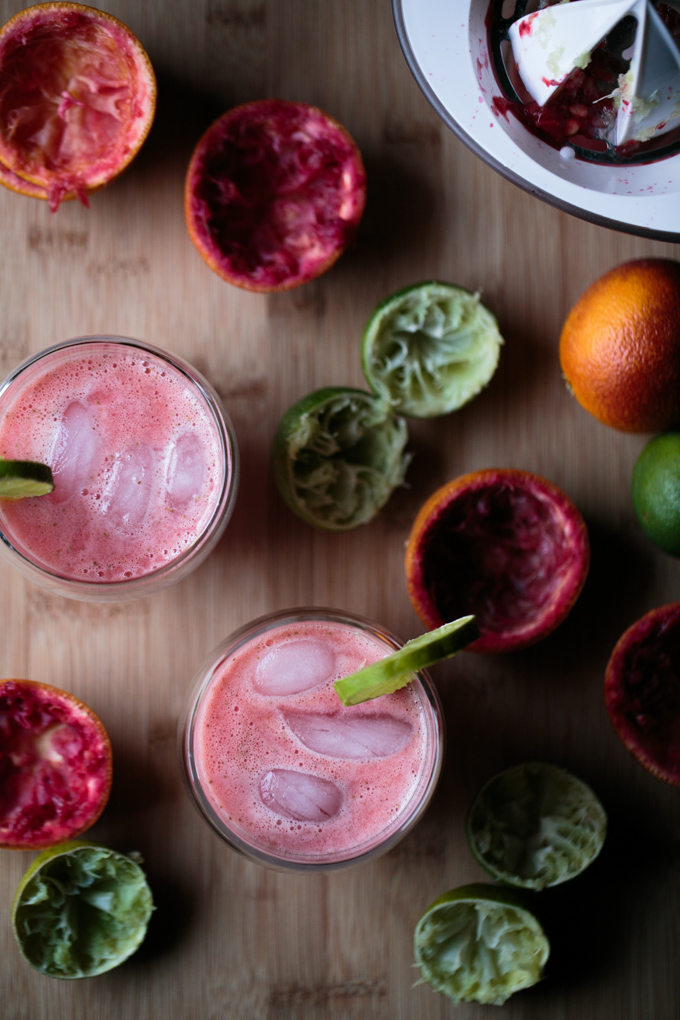 Blood Orange Strawberry Limeade by thiswildseason.com -6