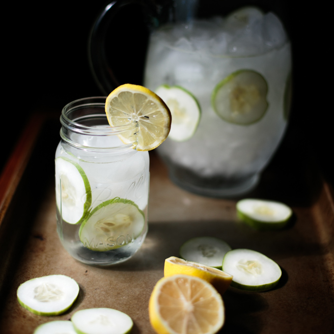 Refreshing Cucumber Lemon Water