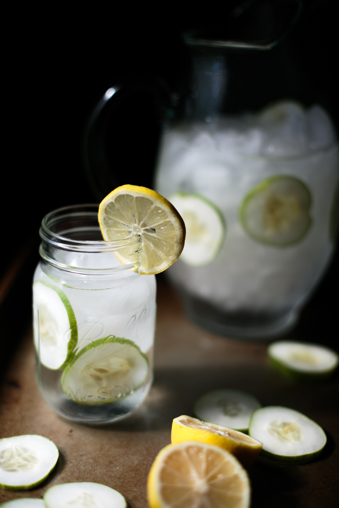 Refreshing Cucumber Lemon Water by thiswildseason.com -2