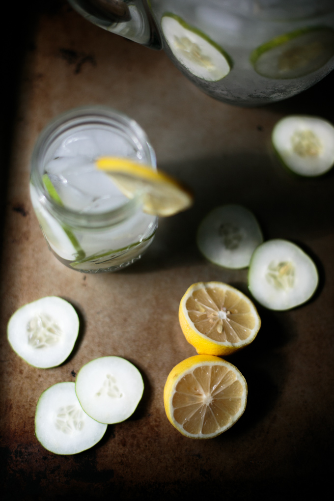 Refreshing Cucumber Lemon Water by thiswildseason.com -3