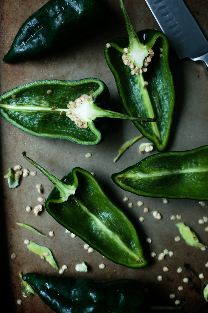 Stuffed Poblano Peppers with a Fresh Lime Crema by thiswildseason.com -3