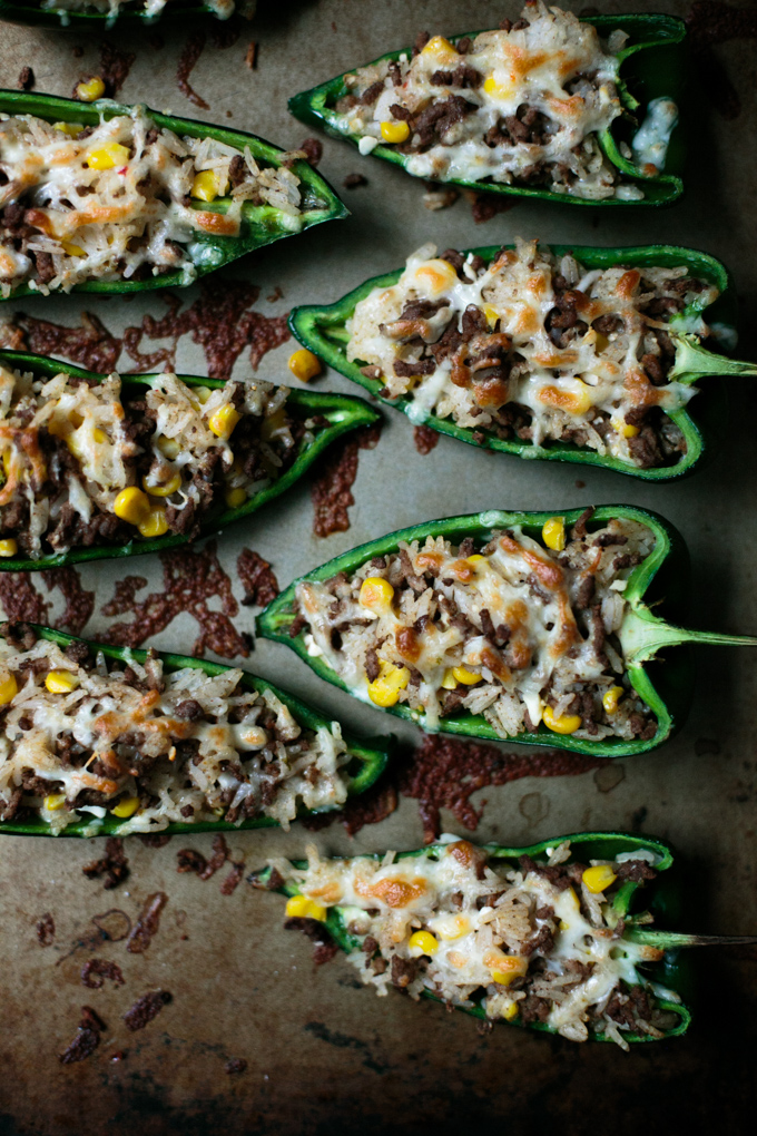 Stuffed Poblano Peppers with a Fresh Lime Crema by thiswildseason.com -6