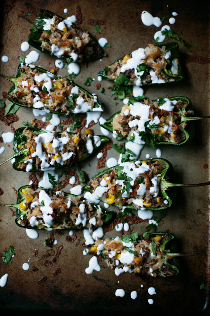 Stuffed Poblano Peppers with a Fresh Lime Crema by thiswildseason.com -7