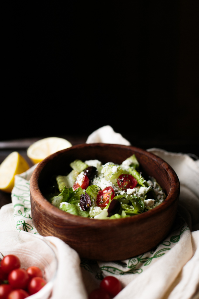 Chopped Greek Salad || thiswildseason.com -10