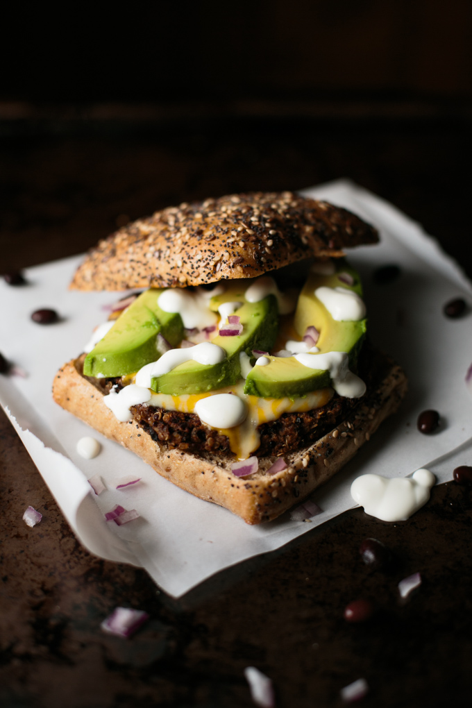 Quinoa Black Bean Burger by thiswildseason.com -2