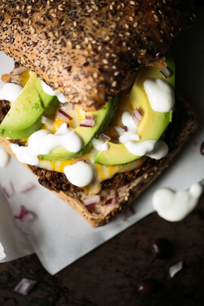 Quinoa Black Bean Burger by thiswildseason.com -3