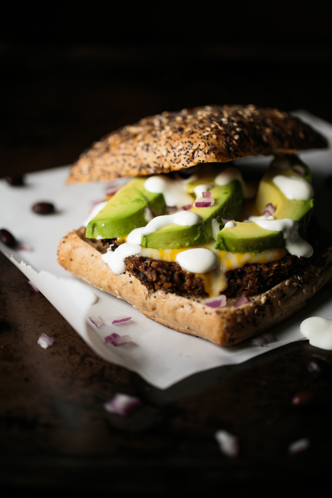 Quinoa Black Bean Burger by thiswildseason.com -5