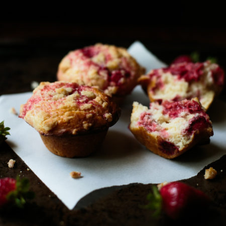 Strawberry Streusel Muffins by thiswildseason.com -1