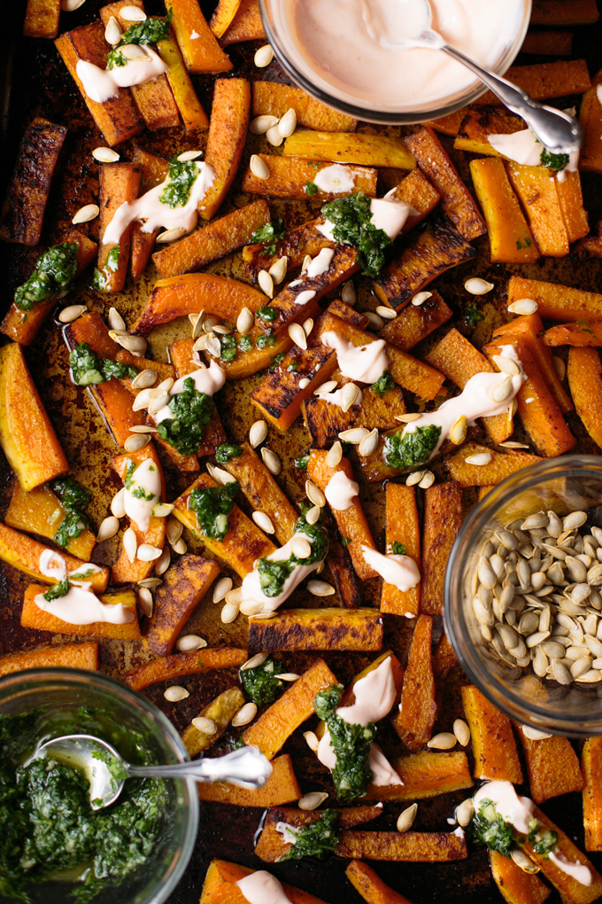 this-wild-season-butternut-squash-with-cilantro-garlic-sauce-and-sriracha-crema-6